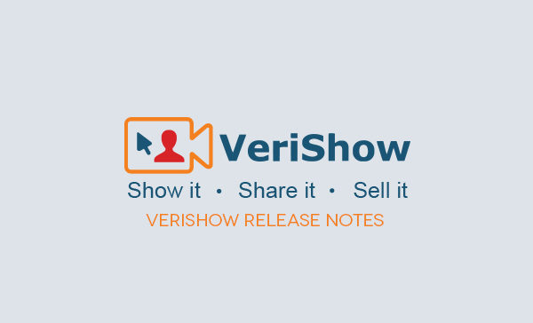 verishow-release -notes