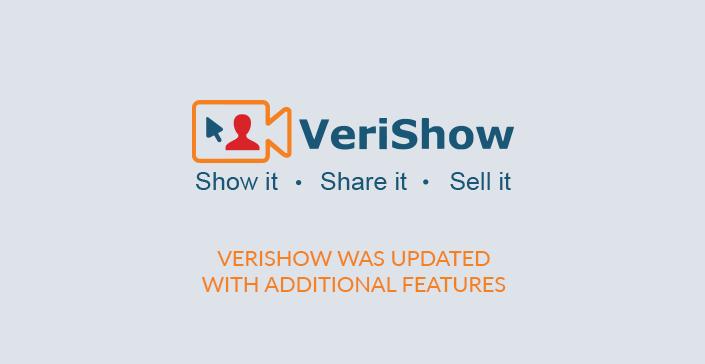 Verishow Release Note 2.0