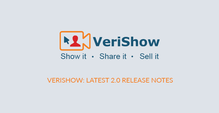 Verishow release note