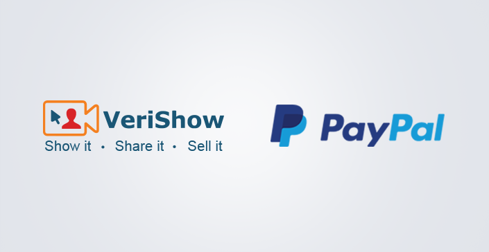VeriShow Announces Integration With PayPal