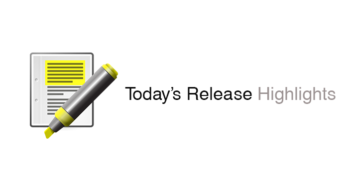 Today's Release Highlights