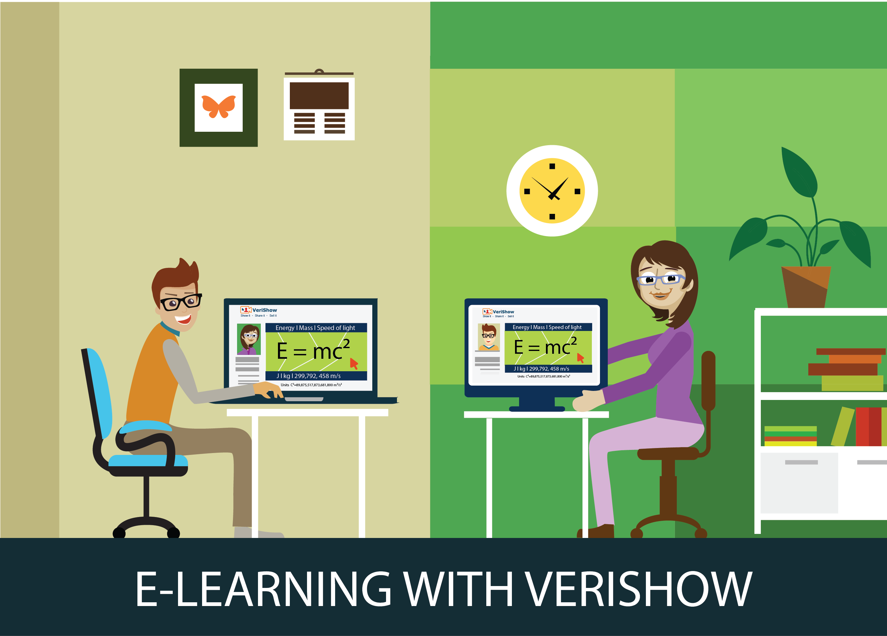 E-Learning with VeriShow video chat service
