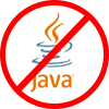 No Java required