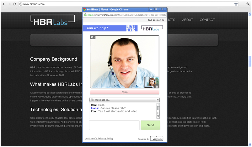 Live Chat Support Software Live Chat Support Verishow